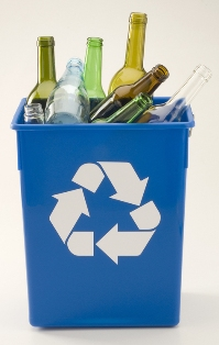 Glass recycling Cornwall